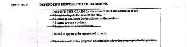 solicitor response to court for small claims raised.jpg